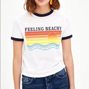 Zara Feeling Beachy Tee